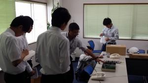 インターンシップ2015年8月技術部ワークショップ2